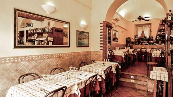 Vista sala - Al Camoscio d'Abruzzo, Rome