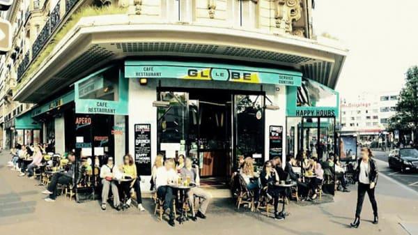 Devanture - Le Globe Diderot, Paris