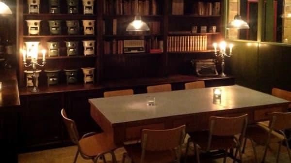 Het restaurant - Drank en Spijslokaal de Meester, Zandvoort