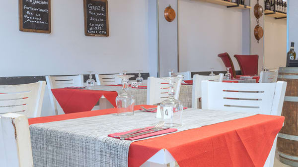 Vista della sala - Ost Friendly Food Roma, Rome