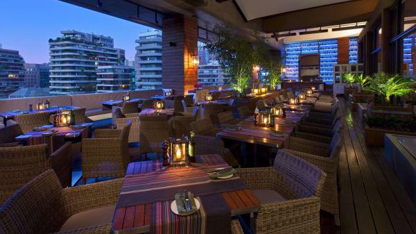 Restaurante Terraza - PISO 4, Santiago
