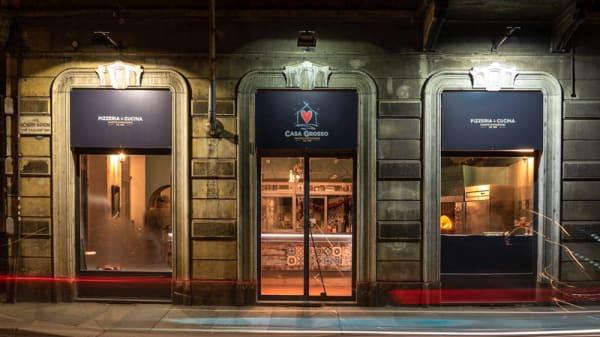 Esterno - Casa Grosso, Turin