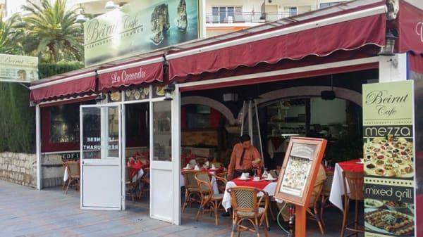Entrada - Beirut Café, Fuengirola