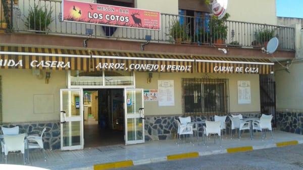 Vista fachada - Mesón Los Cotos, Las Pajanosas
