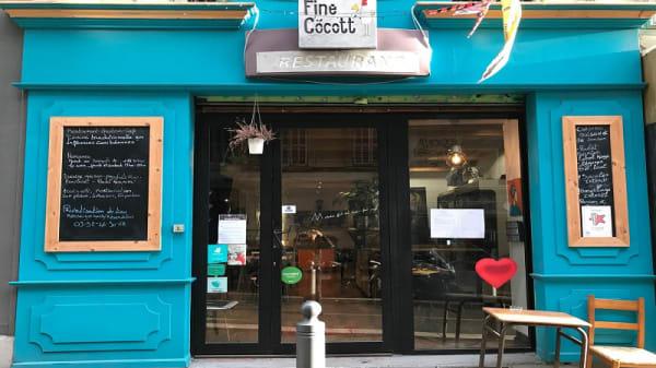 Entrée - Finecocott', Marseille
