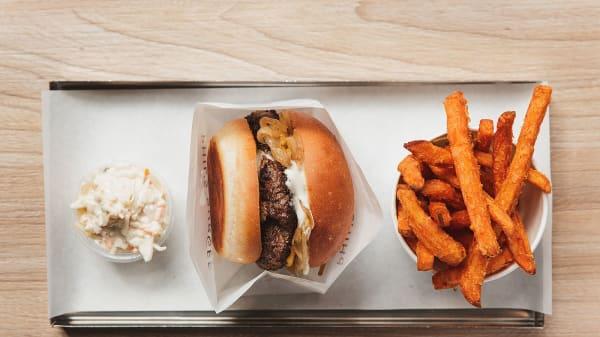 mat - Phils Burger Fältöversten, Stockholm