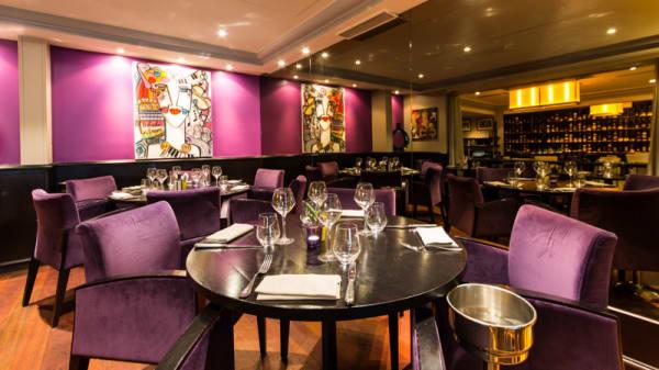 Salle du restaurant - La Villa Corse, Paris