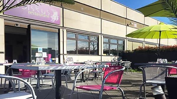 Terrasse - L'Ibiskus Restaurant, La Rochette