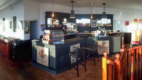 Vue de la salle - Bar à Caf, Pleurtuit