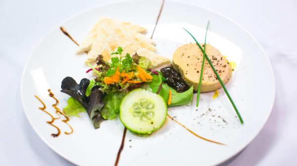 Assiette de foie gras - Le Comptoir Vill'Up, Paris