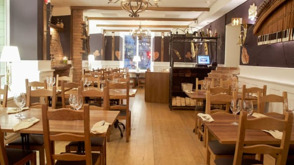 Restaurangens rum - La Terrazza, Göteborg