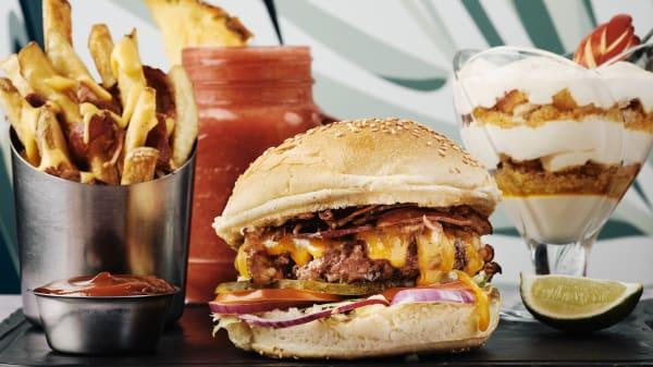 Menu all inclusive - Burger N Juice, Paris