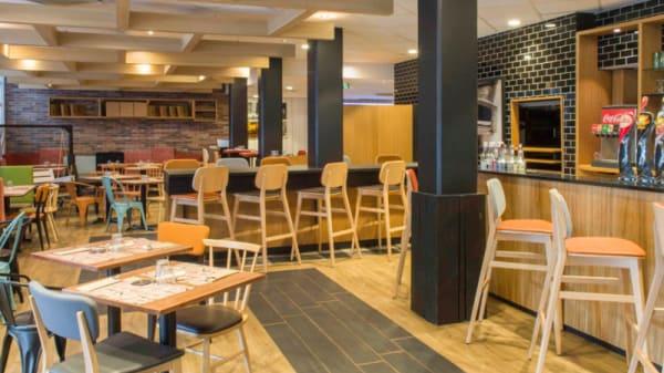 Salle de restaurant - Flam's Roubaix, Roubaix