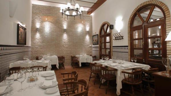Vista sala - Restaurante Salas, Sevilla