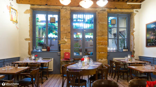 Intérieur - Chez Lucien - Bistrotier, Lyon