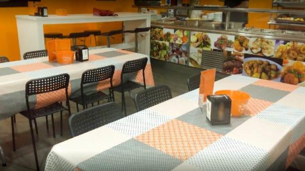 Vista del interior - Hoy no cozino, Santiago de Compostela