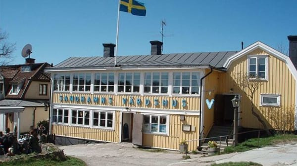 .Ingång - Sandhamns Värdshus, Sandhamn