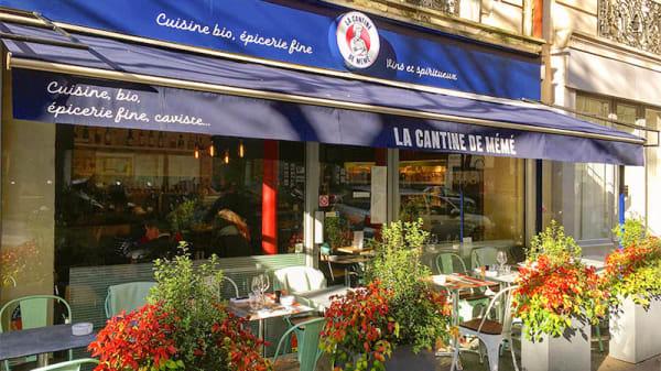 Terrasse - La Cantine de Mémé, Paris