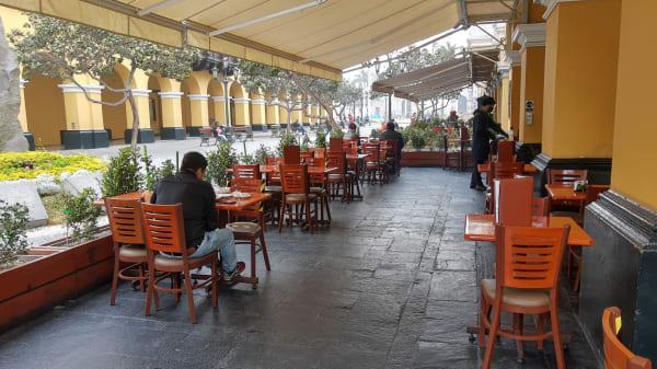 Terraza - PERÚ GOURMET Restaurante, Cercado de Lima
