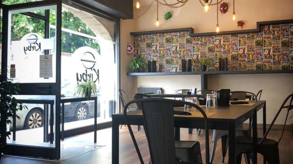 Sala - Kirby burger & More, Caravaggio
