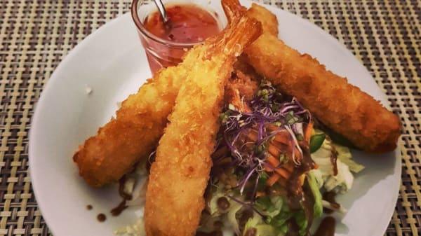 Crevettes croustillantes sauce aigre douce - Le 18 ÈME, Châtillon