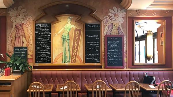 Vue de la salle - Le Hollywood, Paris