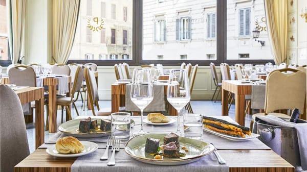 Vista sala - Le Spighe - Grand Hotel Palatino, Rome