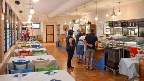 La Sala Ristorante Interna - Ristorante Pizzeria GLU – La Risacca, Porto Sant'Elpidio
