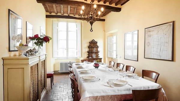 sala - Villa Giustiniani, Lucca