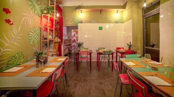 Salle du restaurant - Green, Go!, Florence