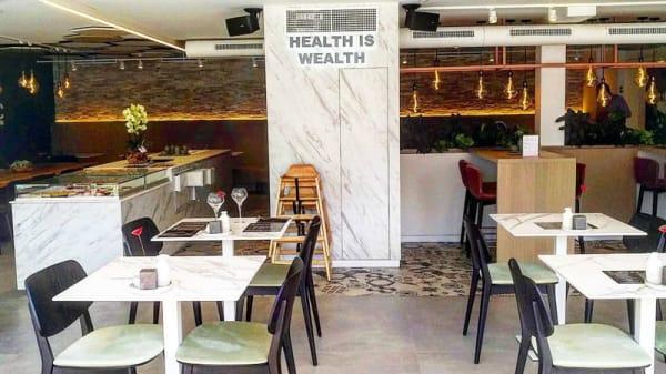 Salle - Organic Vision Restaurant & Wellness, Ostende
