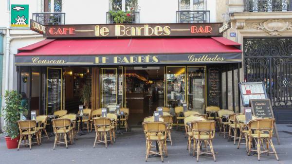 Terrasse - Le Barbès, Paris