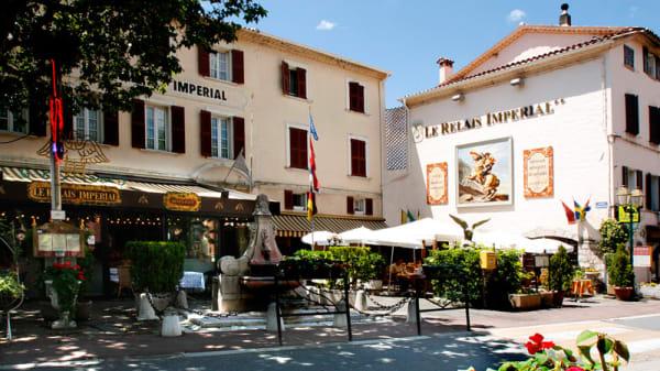 Façade - Le Relais Impérial, Saint-Vallier-de-Thiey
