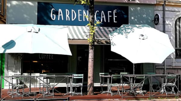 Devanture - Garden Café, Nice