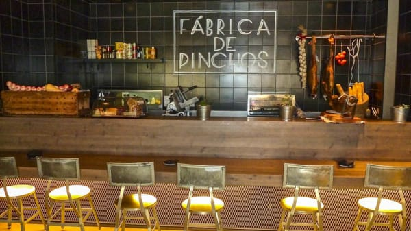 Detalle barra - Taparazzi, Barcelona