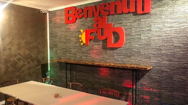 Salle du restaurant - Benvenuti al Fud, Torino