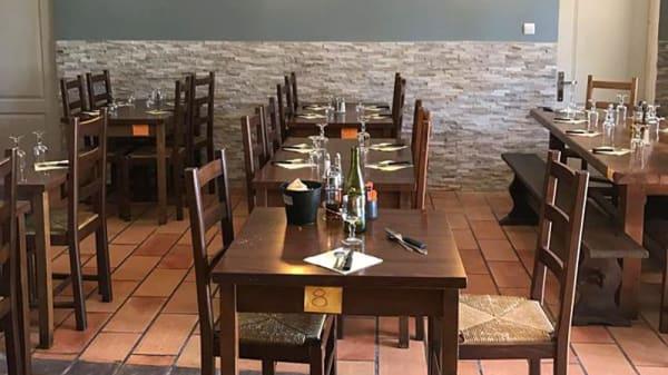 Salle du restaurant - Le Vieux Moulin, Marseille