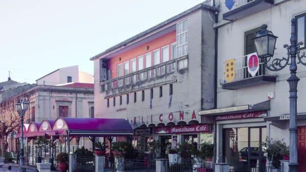 La facciata del ristorante - Il Focolare, Montalbano Elicona