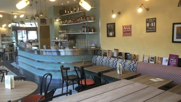 Vue de l'intérieur - Le Ryss Café, Paris