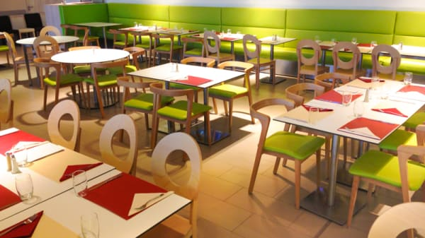 Salle du restaurant - La Brasserie du Food Court 5ème étage, Saint-Louis
