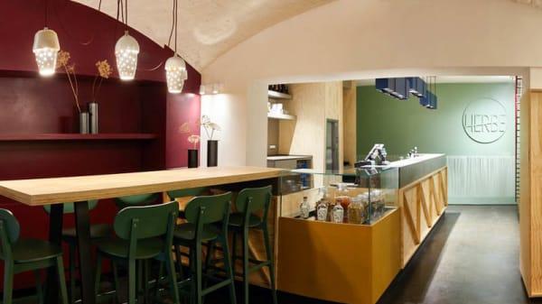 Vista sala - Herbe - Cucina Vegetale, Reggio Emilia