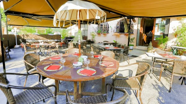 Terrasse - Auberge de Provence, Grasse
