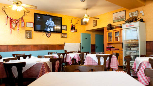 Vista comedor - El Mesón, Bilbao
