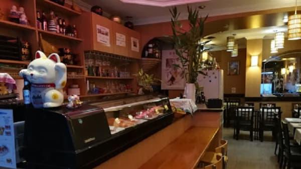 comptoir - Eishin Sushi, Paris