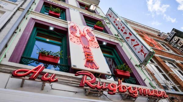 Enseigne - Rugbyman N°1, Brussels