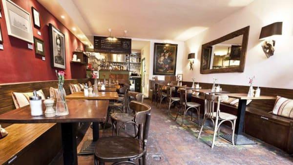 Het restaurant - Greenwoods (Keizersgracht), Amsterdam