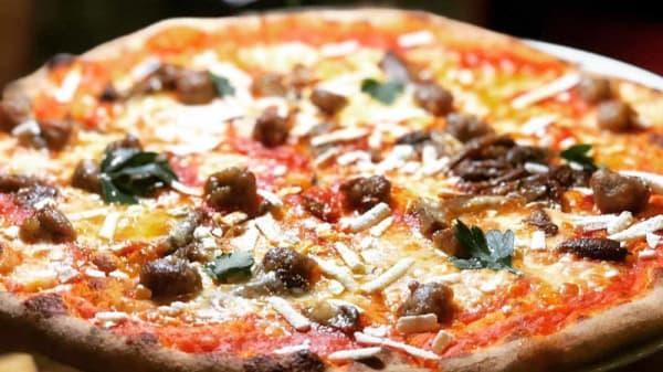 Pizza Sarda - Colle Rosso Ristorante Italiano, Red Hill (QLD)