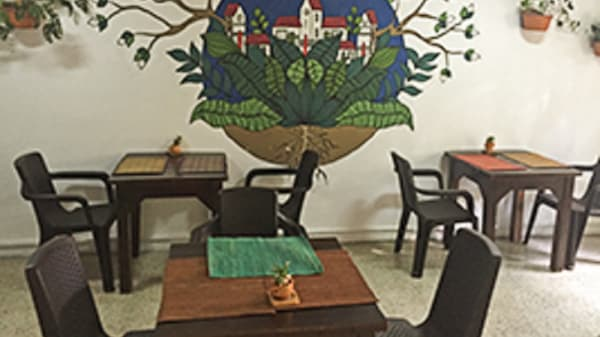 Vista de la sala - Espíritu Libre, Medellín