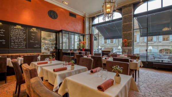 Salle du restaurant - Le Flacon, Carouge
