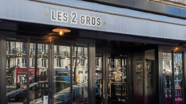 Entrée - Les 2 Gros, Paris